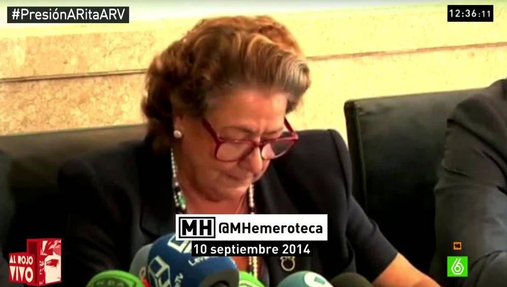 Rita Barberá, Maldita Hemeroteca