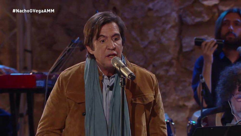El cantante Manolo Tena, en A mi manera