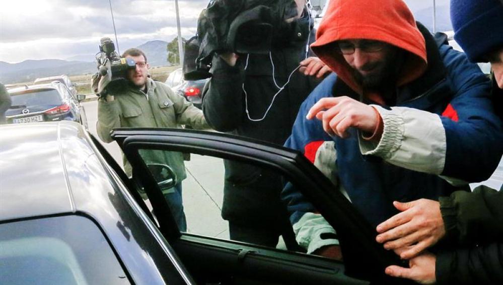 Raúl García, uno de los dos titiriteros encarcelados
