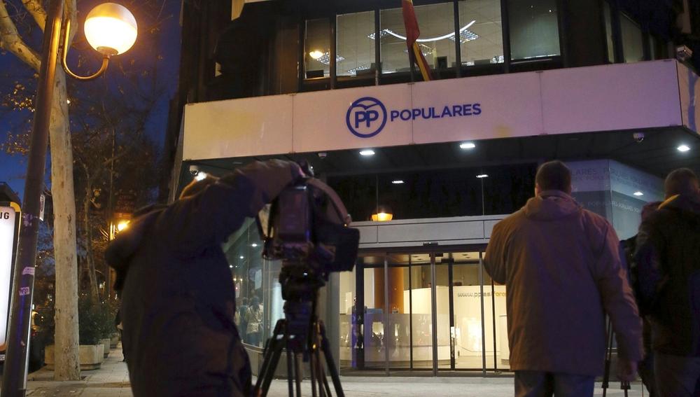 Sede del PP de Madrid