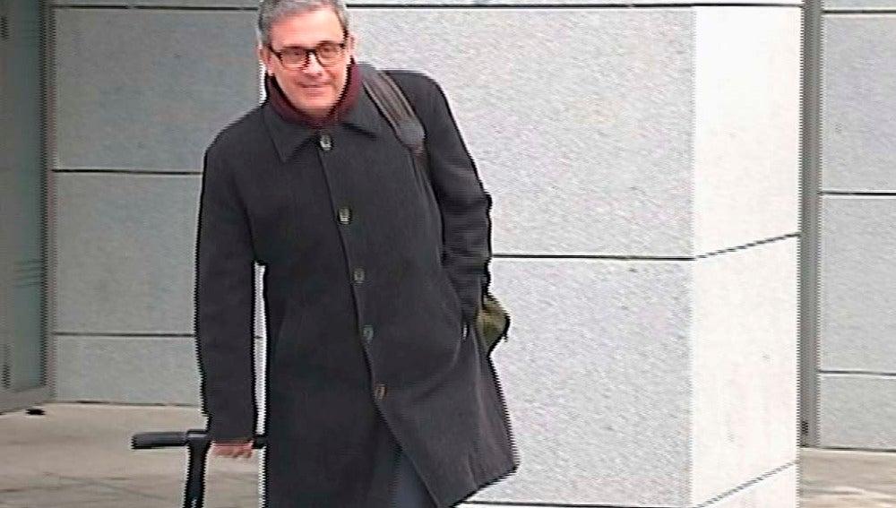 Jordi Pujol Ferrusola en los juzgados