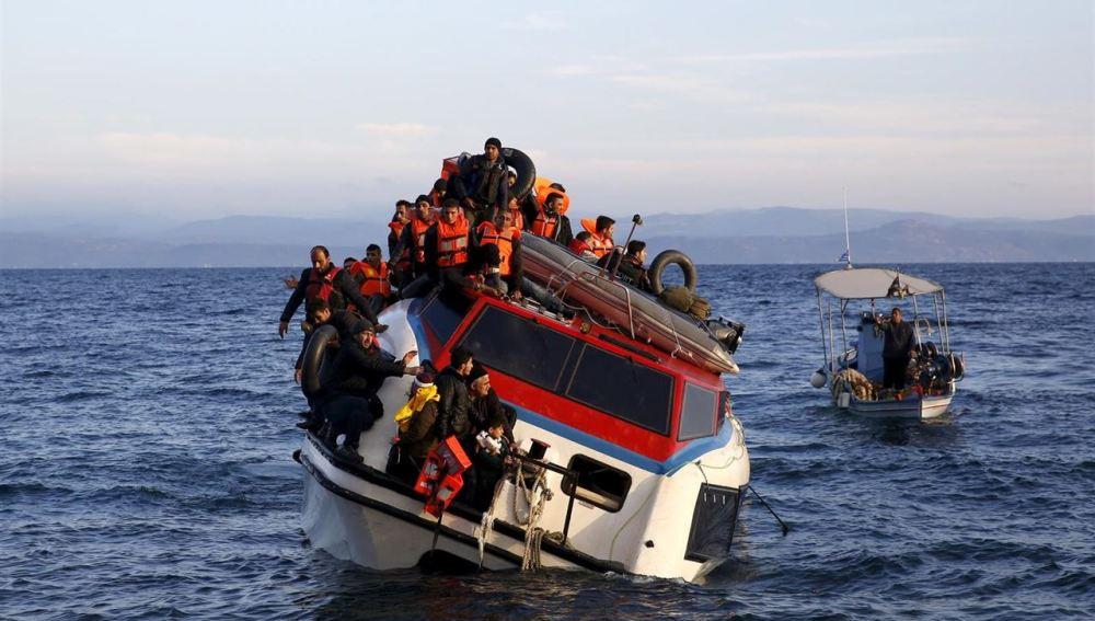 Imágenes de los naufragios de refugiados en el mar Egeo