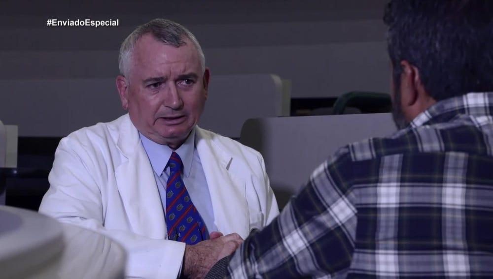 Joseph Thornton, exdirector médico del corredor de   la muerte