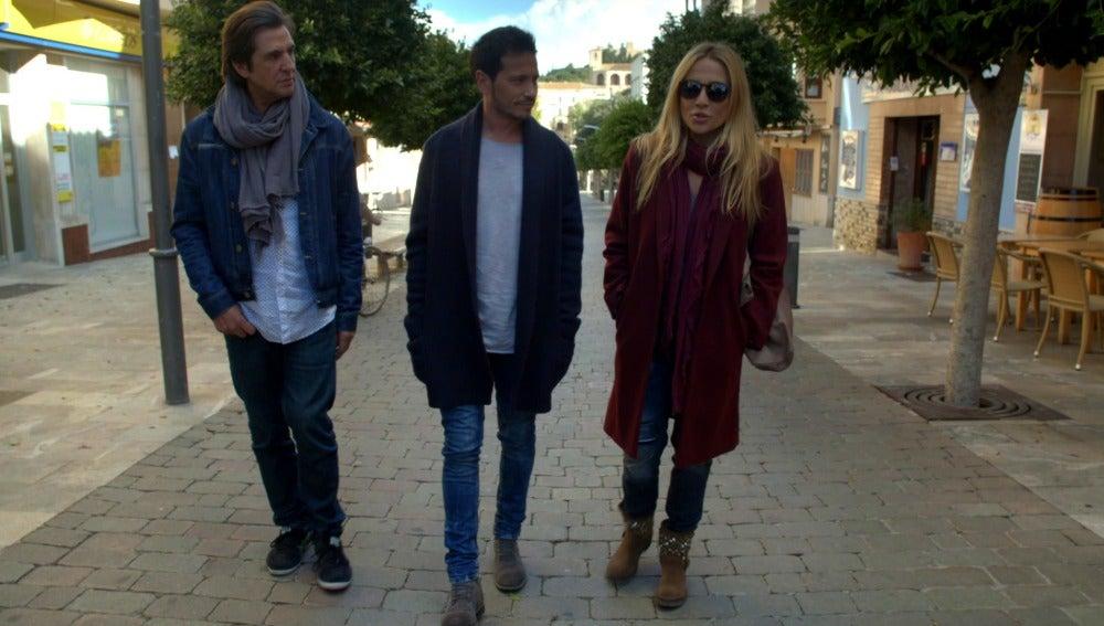 Manolo Tena, David DeMaría y Marta Sánchez