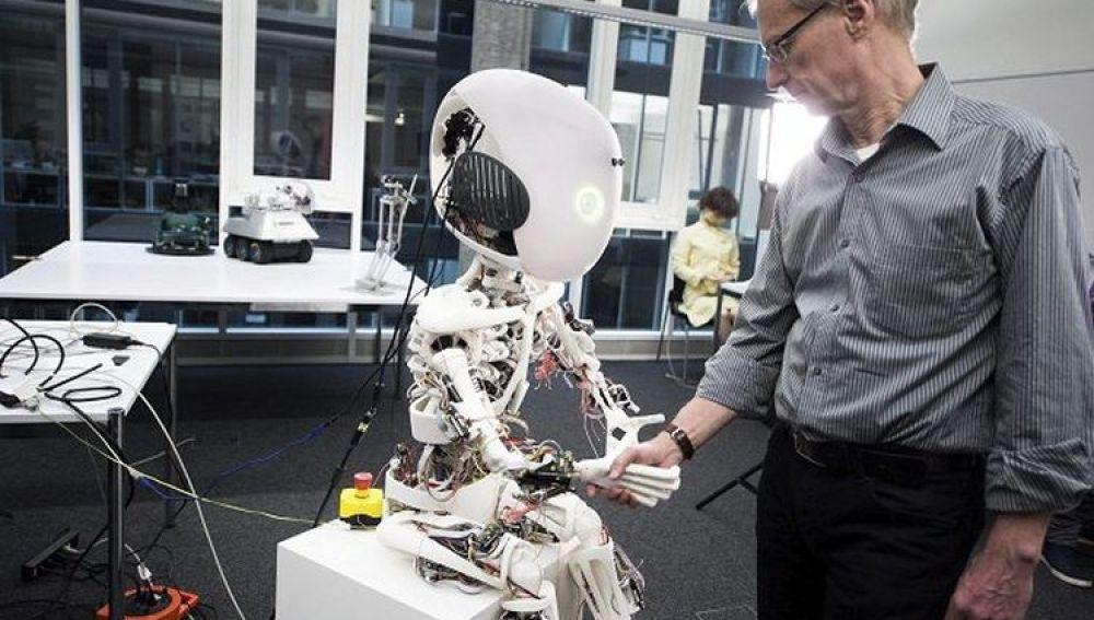 'Roboy', una de las muchas máquinas inteligentes de la actualidad