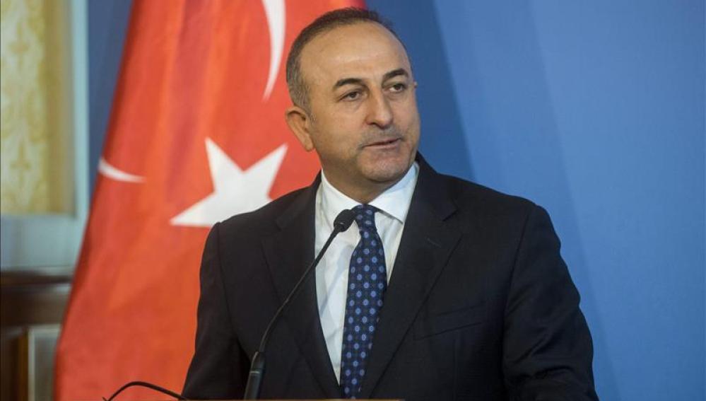 El ministro turco de Exteriores, Mevlut Cavusoglu