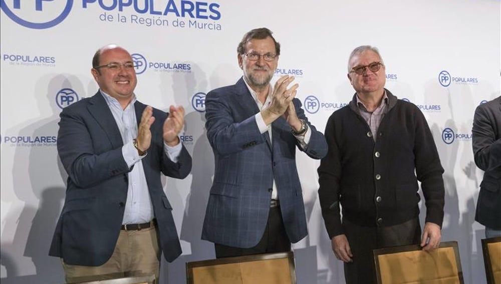 El jefe del Ejecutivo en funciones y líder del PP, Mariano Rajoy