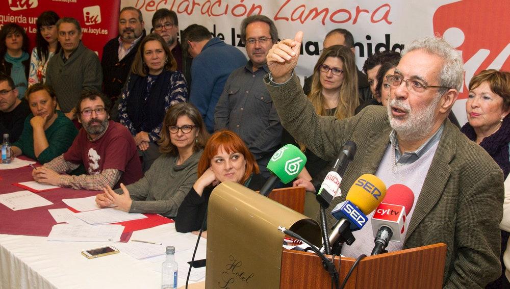 La 'Declaración de Zamora' de Izquierda Unida
