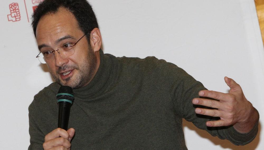 El portavoz del Grupo Parlamentario Socialista en el Congreso, Antonio Hernando