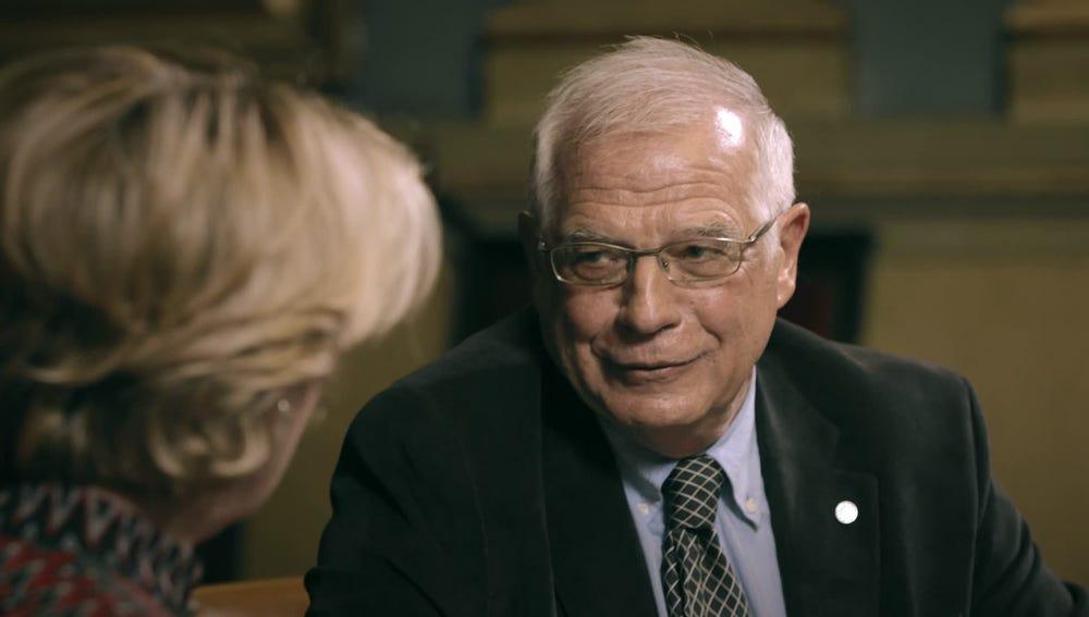 Josep Borrell, en el Consejo de Exministros de Salvados