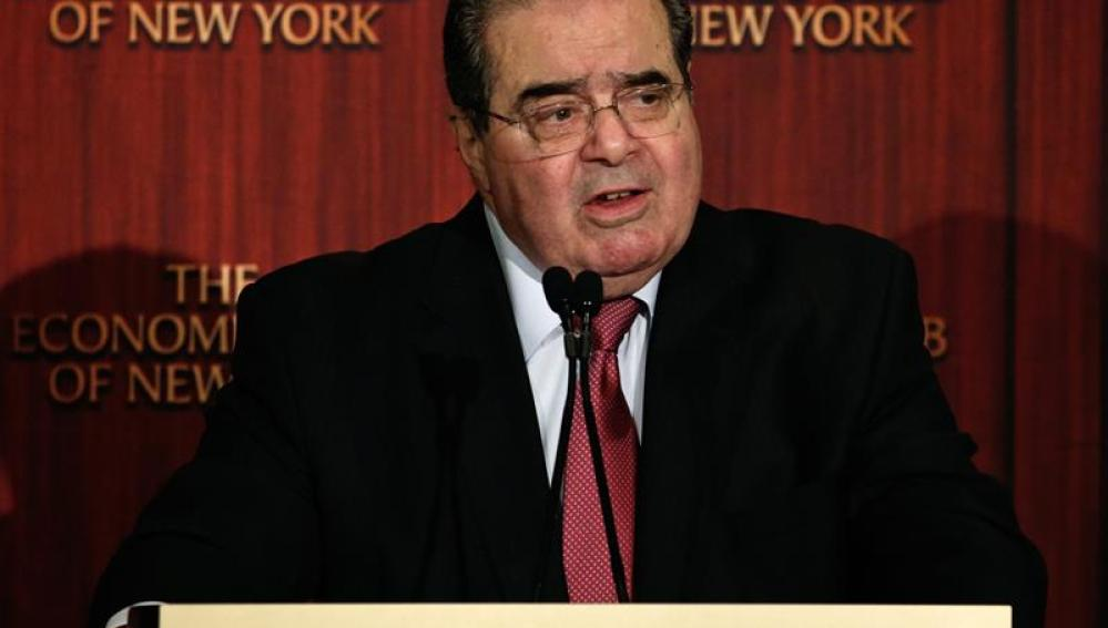 El conservador Antonin Scalia, juez del Tribunal Supremo