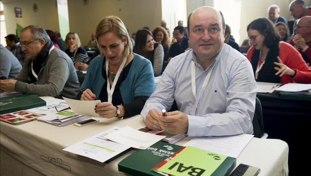 Andoni Ortuzar, reelegido por unanimidad presidente del PNV durante la VII Asamblea General del PNV