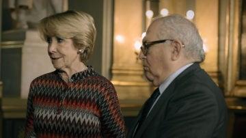 Esperanza Aguirre y Eduardo Serra