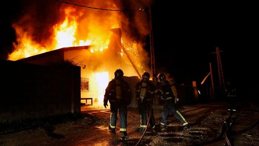 Imagen de un incendio