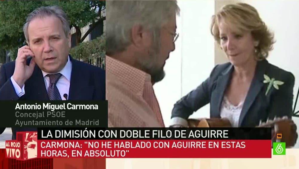 Antonio Miguel Carmona, concejal del PSOE en el Ayuntamiento de Madrid