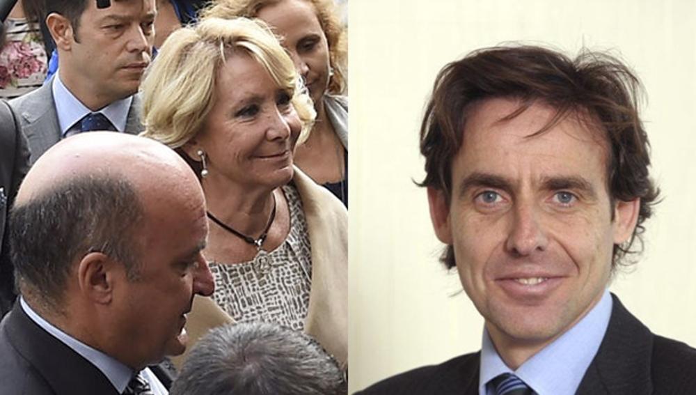 Beltrán Gutiérrez y López Madrid en imágenes de archivo