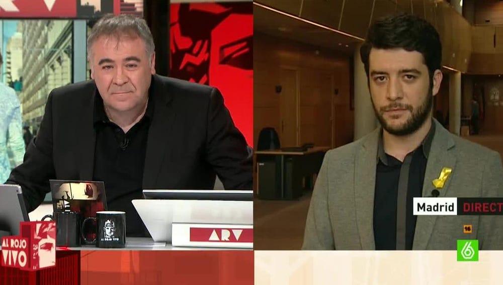 César Zafra, portavoz de C's en la Asamblea de Madrid