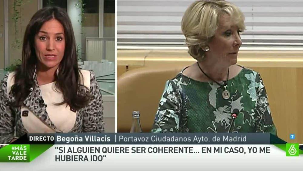 Begoña Villacís, portavoz de C's en el Ayuntamiento de Madrid