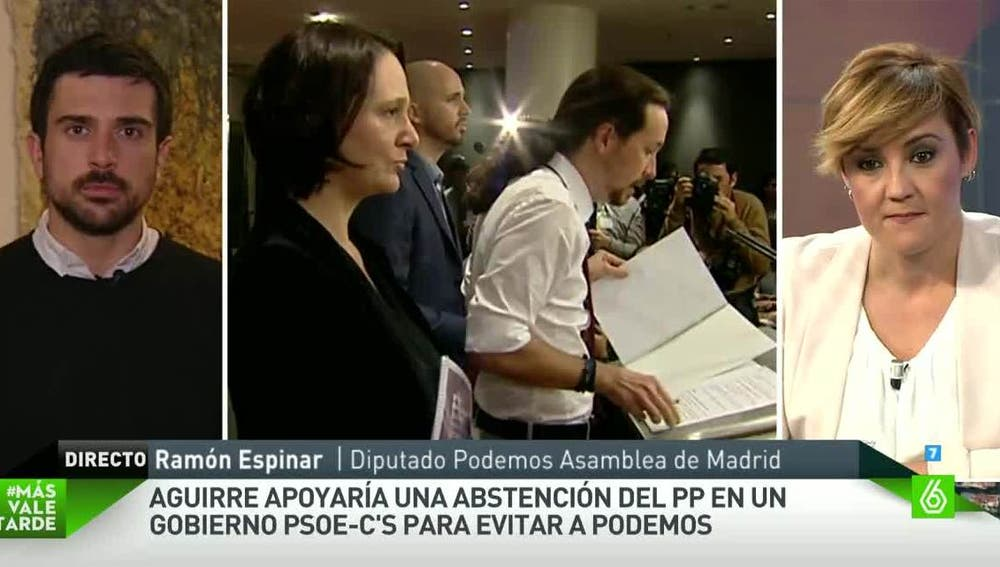 Ramón Espinar, diputado de Podemos en la Asamblea de Madrid