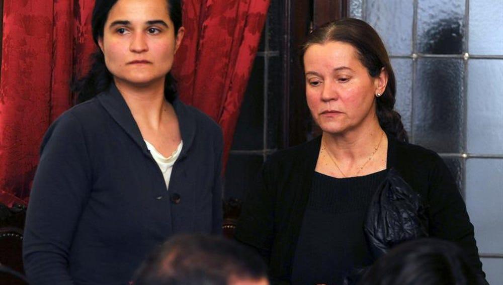 Triana Martínez en el último día del juicio