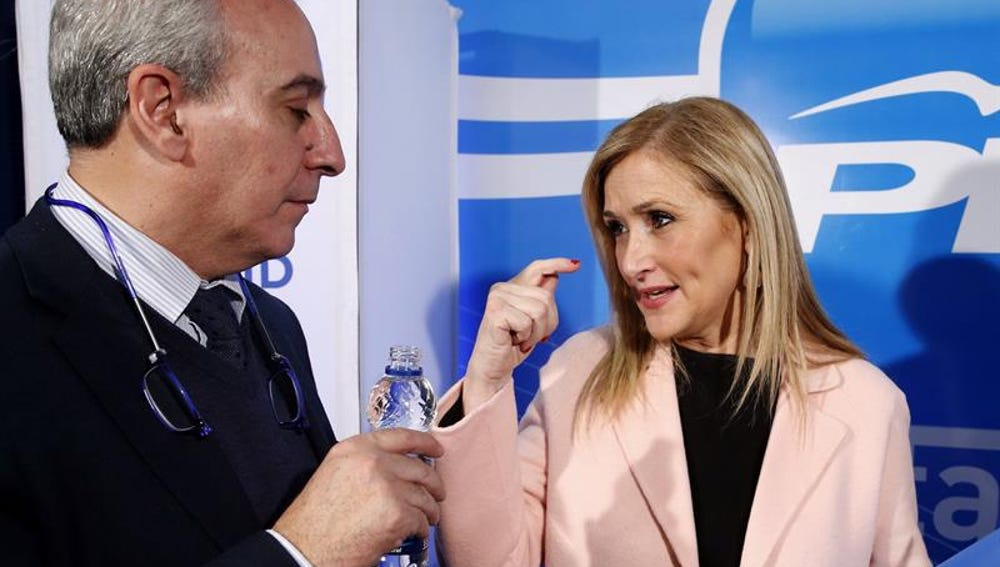 Cristina Cifuentes y Juan Carlos Vera
