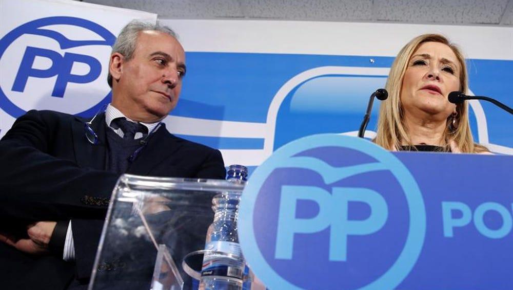 Juan Carlos Vera y Cristina Cifuentes