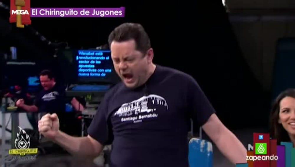 Roncero en El Chiringuito de Jugones 'canta' por Bruce Springsteen