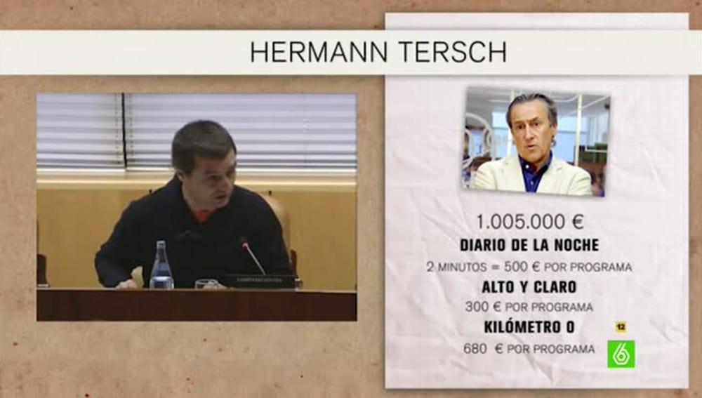 Análisis de la facturación de Hermann Tersch