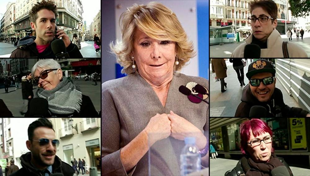 Qué opinan los madrileños sobre Esperanza Aguirre
