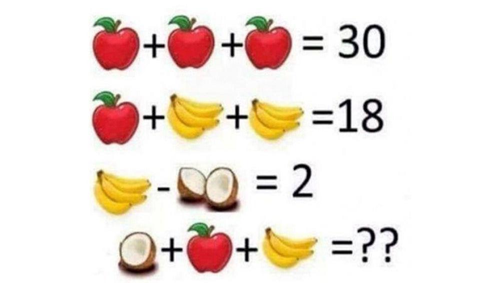 Imagen del juego matemático para niños