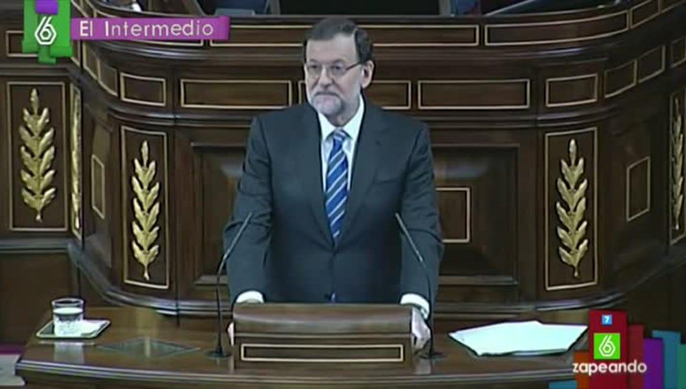 El 'poeta' Mariano Rajoy, en El Intermedio