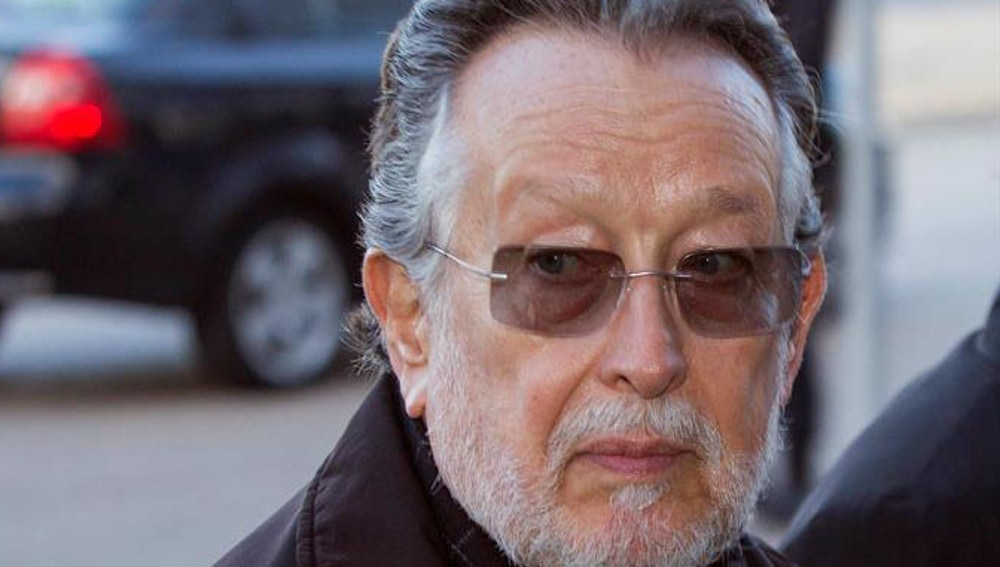 Alfonso Grau, a su llegada al juzgado