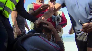 Un traficante que recibe la furia de los voluntarios