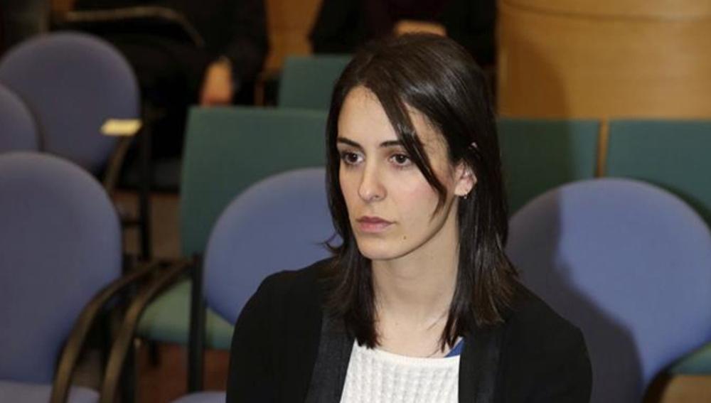 Rita Maestre durante su declaración