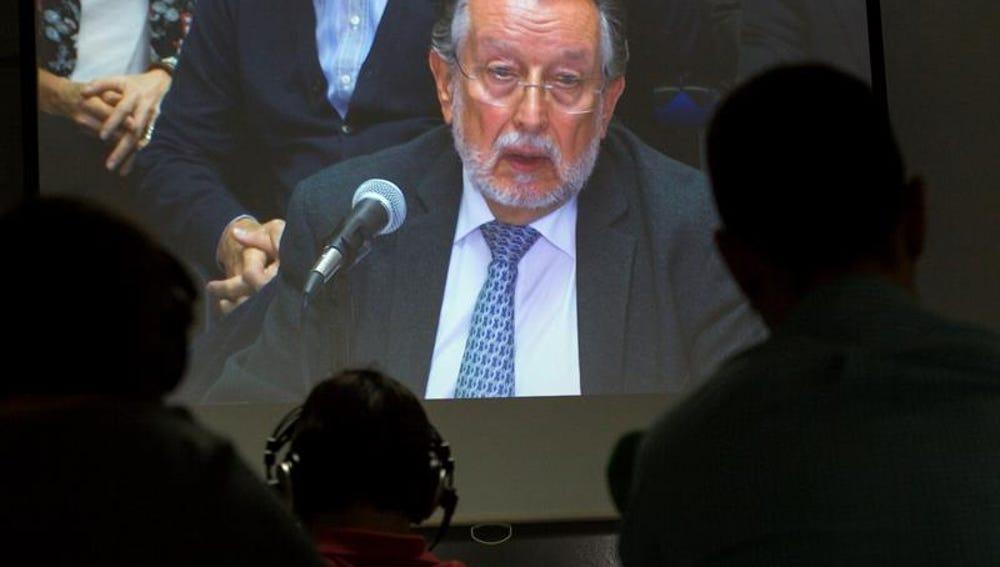 Declaración del exvicealcalde de Valencia Alfonso Grau en el juicio del caso Nóos