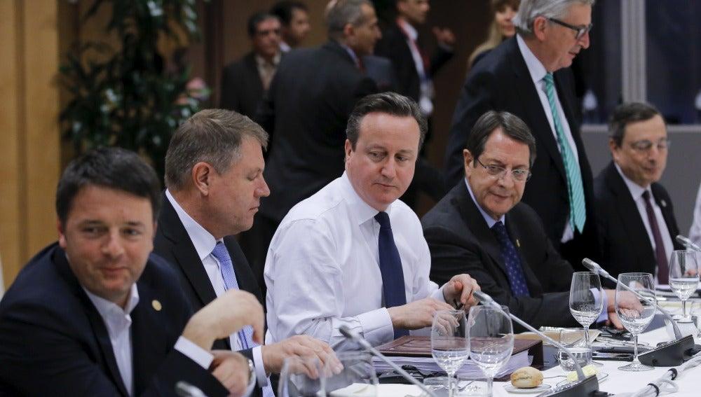 Reunión de líderes de la UE