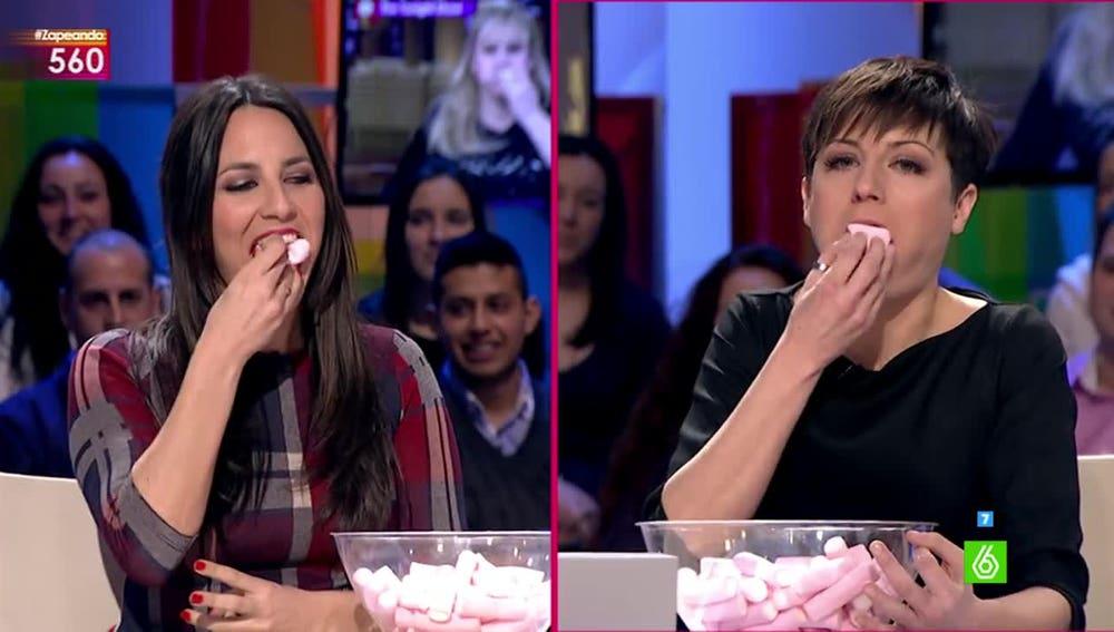 Irene Junquera y Sara Escudero