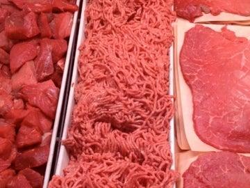 Bandejas con carne (Archivo)