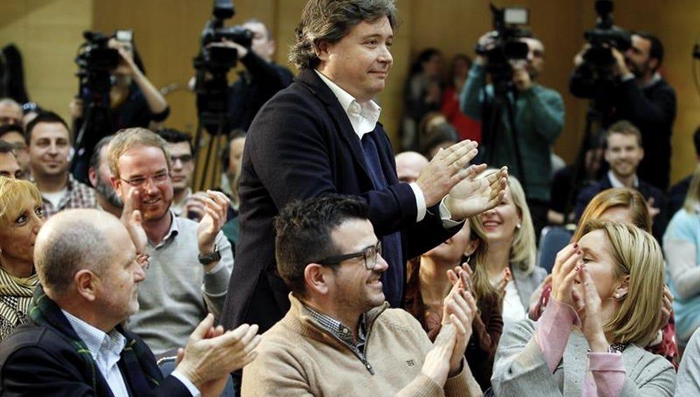 Luis Santamaría ante el comité del PP Valenciano