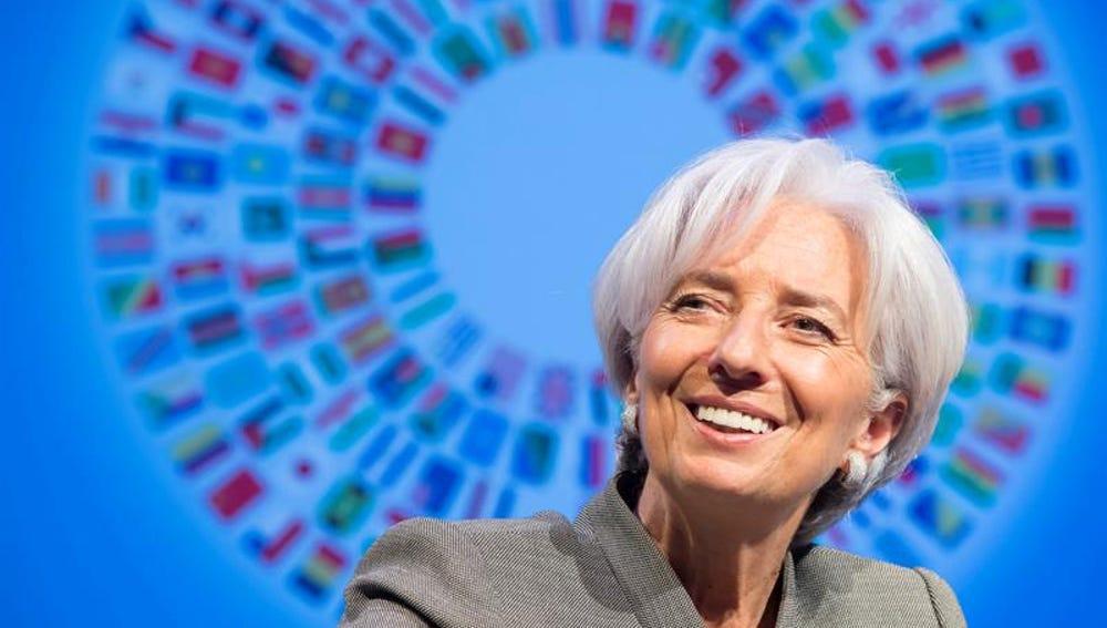 Christine Lagarde, en Washington, Estados Unidos
