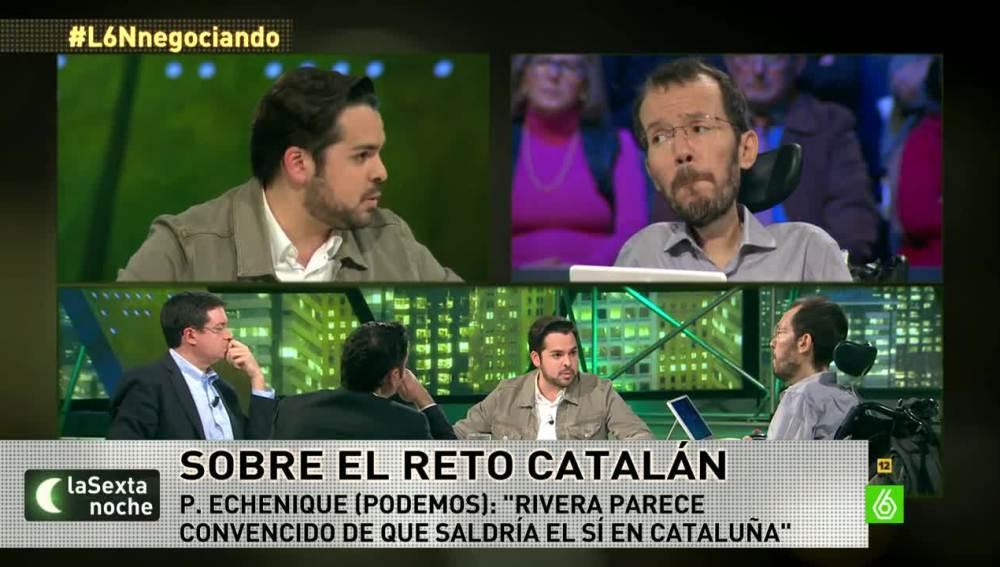 Pablo Echenique, en laSexta Noche