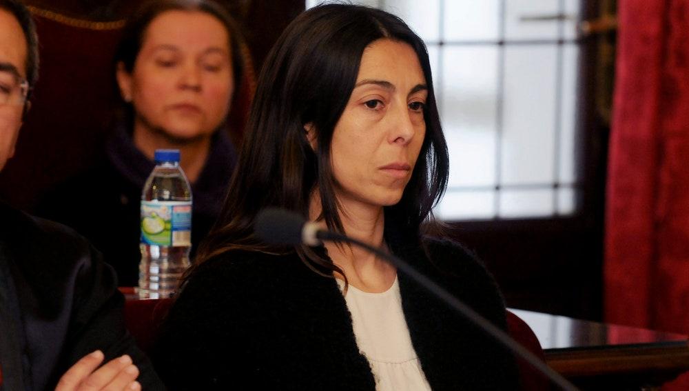 La acusada y policía local, Raquel Gago