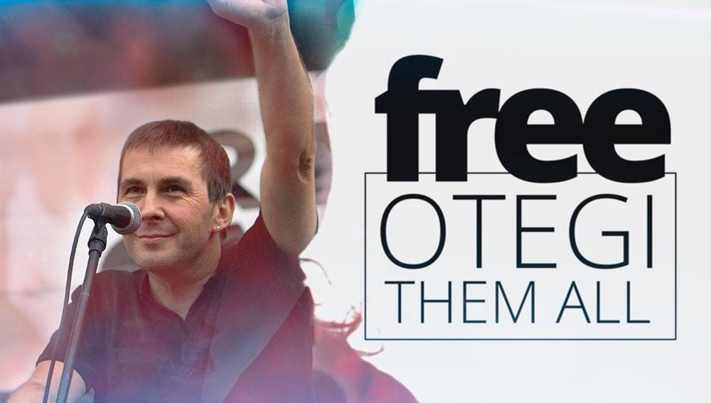 Imagen de un vídeo de 'Free Otegi'