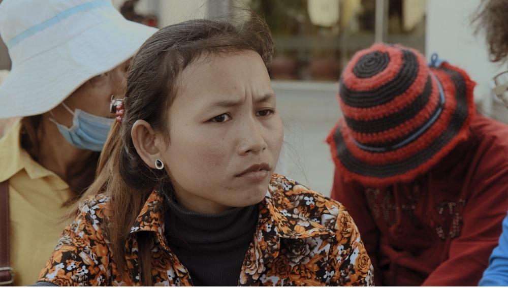 Van Chou, trabajadora de la industria textil