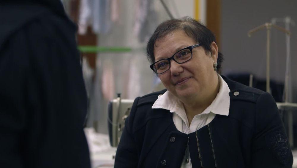 Pilar Rodríguez, exsocia de una cooperativa textil