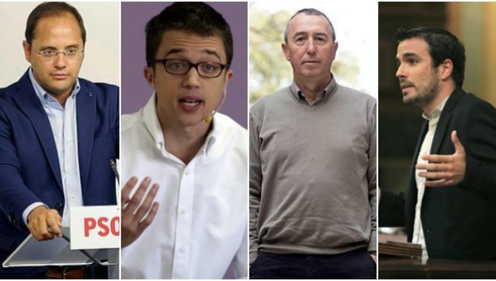Mesa negociadora de la izquierda para investir a Sánchez