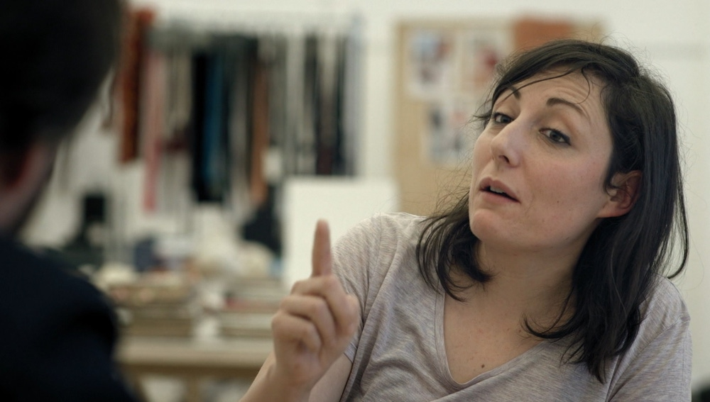 María Almanzán, ingeniera textil