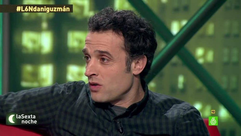 Daniel Guzmán, en laSexta Noche