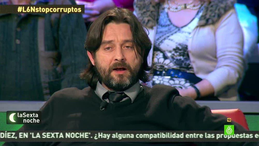 Rafa Mayoral, diputado de Podemos