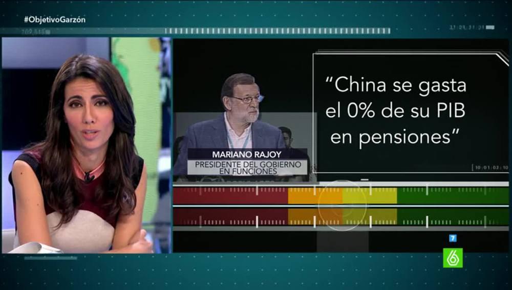 Prueba de verificación a Mariano Rajoy